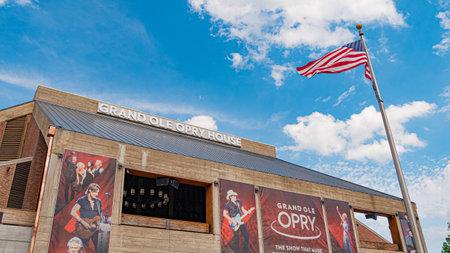Grand Ole Opry in Nashville - NASHVILLE, TENNESSEE - JUNE 15, 2019 Archivio Fotografico - 137810545