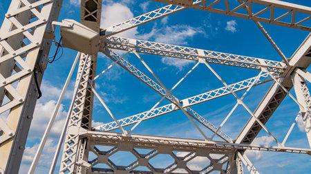 John Seigenthaler Pedestrian Bridge in Nashville - NASHVILLE, USA - JUNE 15, 2019 Archivio Fotografico - 137810538