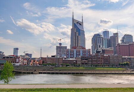 AT&T Tower in Nashville - NASHVILLE, USA - JUNE 15, 2019 Archivio Fotografico - 137810540