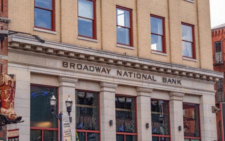 Former Broadway National Bank - NASHVILLE, USA - JUNE 15, 2019 Archivio Fotografico - 137810519