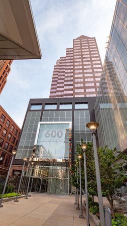 600 Washington Avenue in St Louis - ST. LOUIS, USA - JUNE 19, 2019 Archivio Fotografico - 137810556