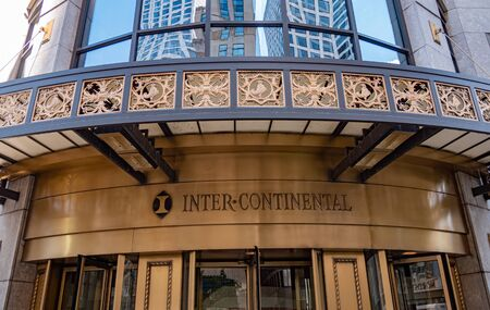 Intercontinental Hotel in Chicago - CHICAGO, USA - JUNE 11, 2019