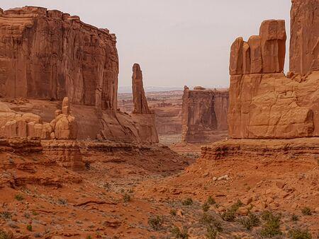 Arches National Park in Utah Reklamní fotografie