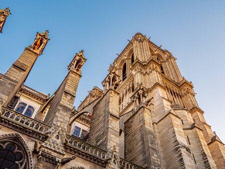 Notre Dame Cathedral in Paris Reklamní fotografie