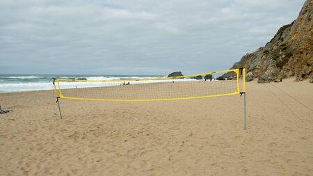 Beautiful Adraga Beach at the Atlantic Ocean coast in Portugal - travel photography Stok Fotoğraf - 133444234
