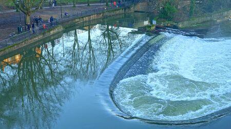 Pulteney Bridge in Bath England - travel photography Reklamní fotografie