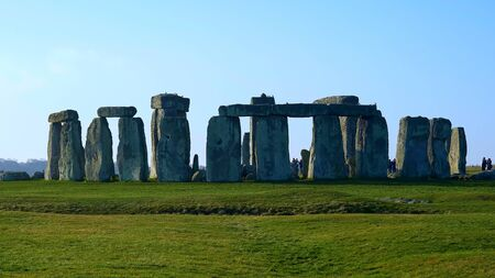 Famous Stonehenge in England - travel photography Stock Photo