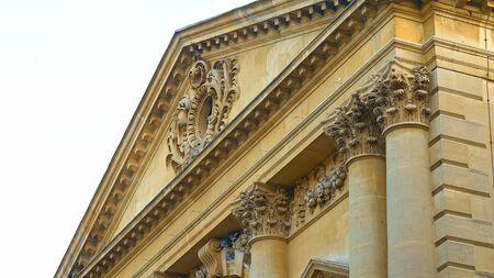 The famous Roman Baths in the historic city of Bath England - travel photography Reklamní fotografie