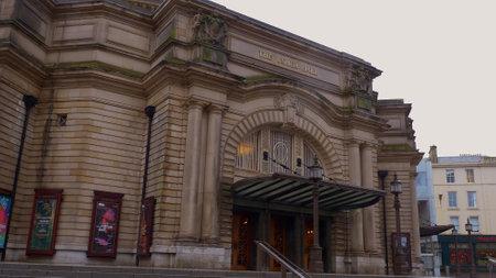 Usher Hall is a famous venue in Edinburgh - EDINBURGH, SCOTLAND - JANUARY 10, 2020
