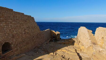 Ancient ruins on the island of Malta