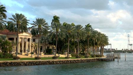 Exclusive mansions on Star Island Miami - MIAMI, FLORIDA APRIL 10, 2016