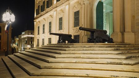 Famous Castille in Valletta - the home of the Maltese Prime Minister - travel photography