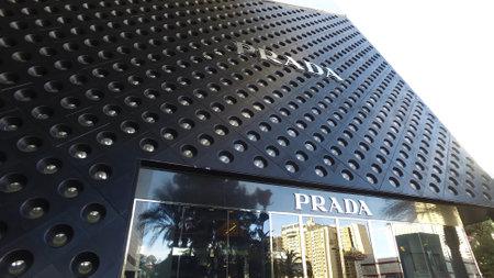 Prada - Exclusive stores at Crystals Las Vegas - LAS VEGAS, UNITED STATES - APRIL 22, 2017 Editorial