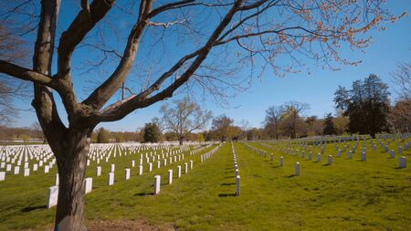 Famous Arlington Cemetery in Washington DC