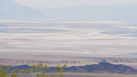 The infinite landscape at Death Valley California