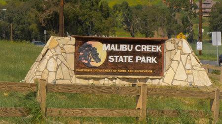 Malibu Creek State Park - MALIBU, USA - MARCH 29, 2019