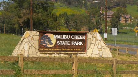 Malibu Creek State Park - MALIBU, USA - 29. MÄRZ 2019