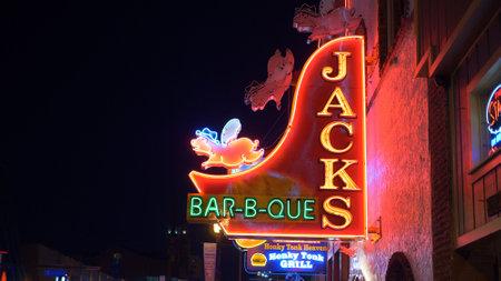 Jacks Bar-B-Que in Nashville - NASHVILLE, UNITED STATES - JUNE 17, 2019 Sajtókép