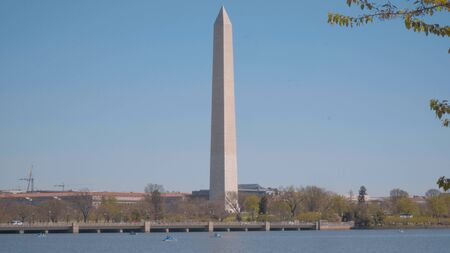 Washington Monument Obelisk in Washington DC - travel photography