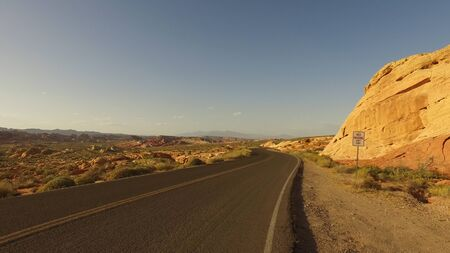 Symbol of Freedom - the Valley of Fire in Nevada - travel photography