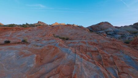 Valley of Fire after sunset - a beautiful place - travel photography
