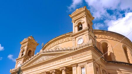 Mosta Rotunda - famous cathedral on the Island of Malta Archivio Fotografico