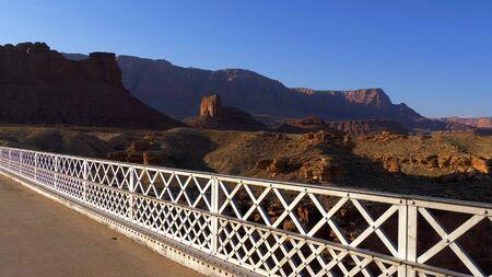 Navajo Bridge over Colorado River - travel photography Stock fotó