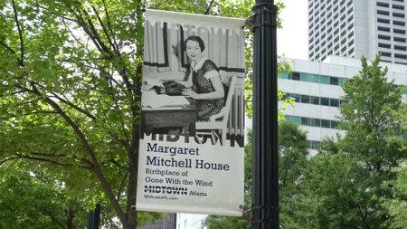 Margaret Mitchell House in Atlanta midtown - ATLANTA, USA - APRIL 22, 2016 報道画像