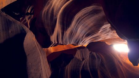 Upper Antelope Canyon in Arizona Stock fotó