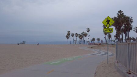 Ocean Walk at Venice Beach - travel photography