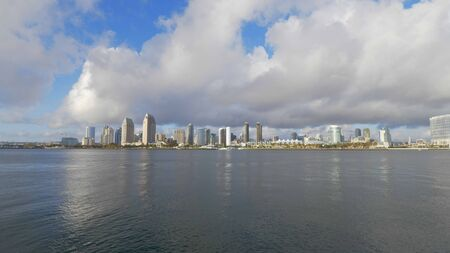 Beautiful city of San Diego on a sunny day