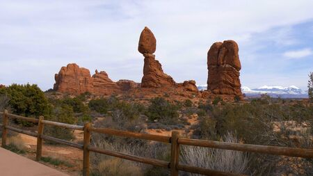 Arches National Park in Utah - famous landmark