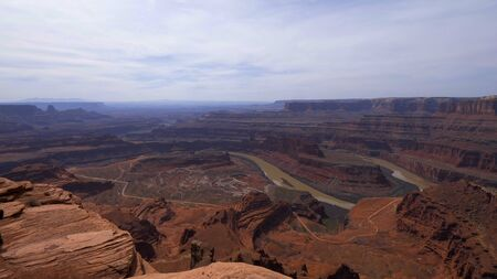 View over Dead Horse Point in Utah