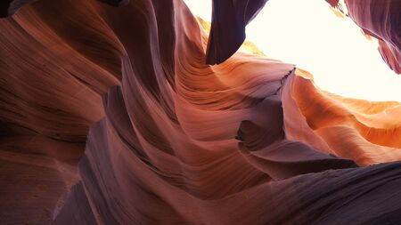 Lower Antelope Canyon - a breathtaking walk through Stock fotó