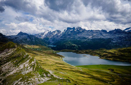 Amazing nature of Switzerland in the Swiss Alps Zdjęcie Seryjne