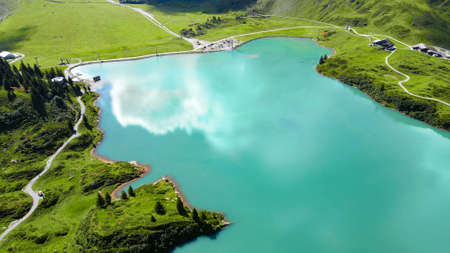Amazing nature of Switzerland in the Swiss Alps Banque d'images