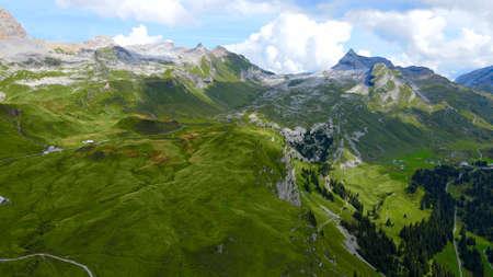 The Swiss Alps at Melchsee Frutt Zdjęcie Seryjne