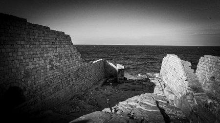 Ancient ruins on the island of Malta Stock fotó