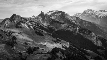 The wonderful mountains of the Swiss Alps