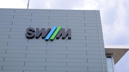 Stadtwerke Munich company logo - MUNICH, GERMANY - JUNE 03, 2021
