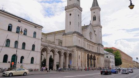 University Church Munich - MUNICH, GERMANY - JUNE 03, 2021