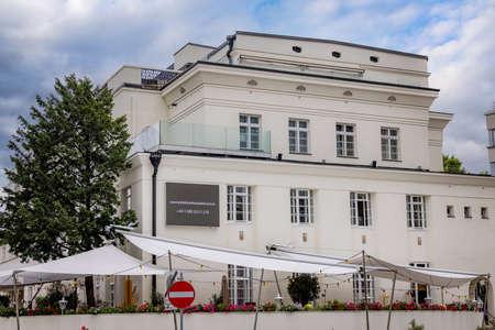 Little house of Art in Vienna - VIENNA, AUSTRIA, EUROPE - AUGUST 1, 2021