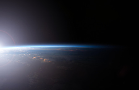 astrophotography: Planet earth from the space.
