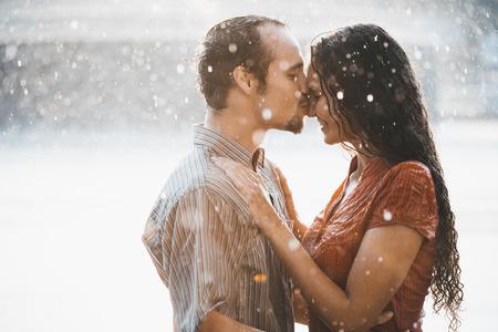 Liefde in de regen