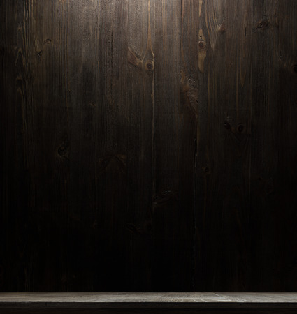 wooden interior room.