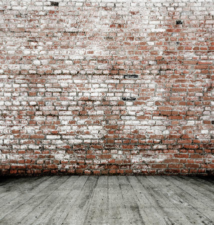 red wall: Background of brick wall texture Stock Photo