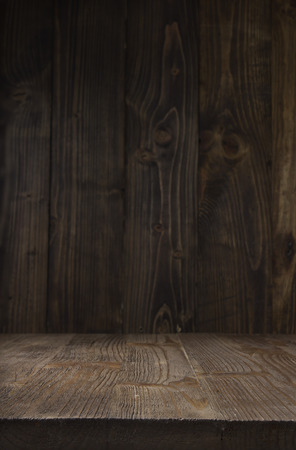 backdrop design: the brown old vertical wood texture