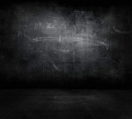 glow in the dark: dark space background