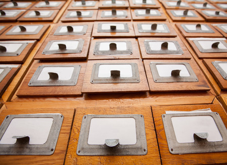 drawers: Library drawers