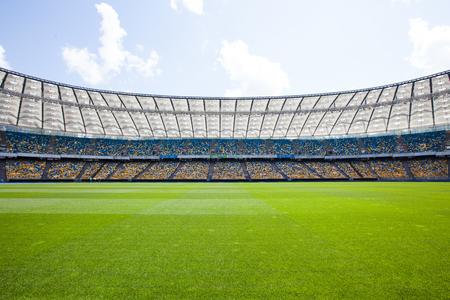 Vista dello stadio olimpico Archivio Fotografico - 49981026